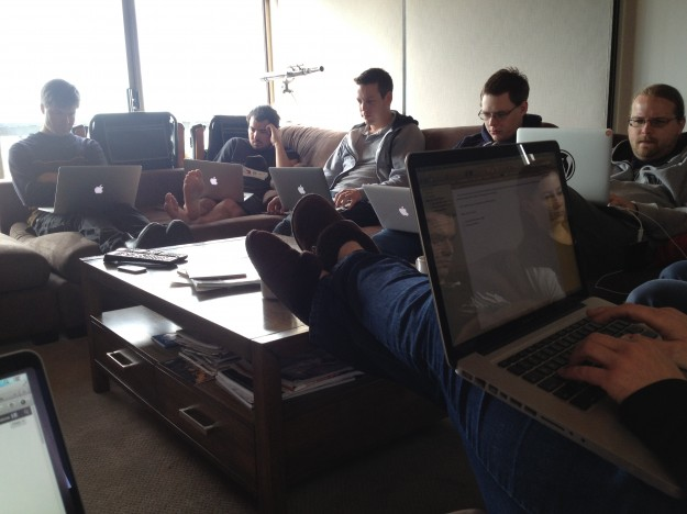 Another day, another coder collective... Image courtesy of Amelia Briscoe