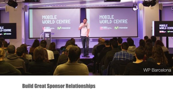 Growing & Developing your WordPress Meetup - Sponsor Relationships