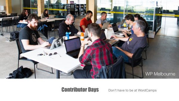 Growing & Developing your WordPress Meetup - Contributor Days