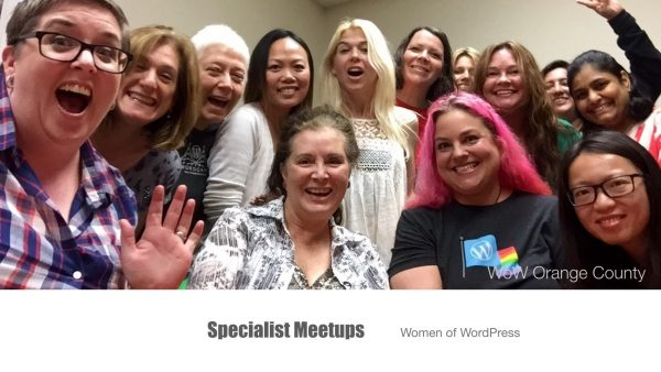 Growing & Developing your WordPress Meetup - Specialist Meetups